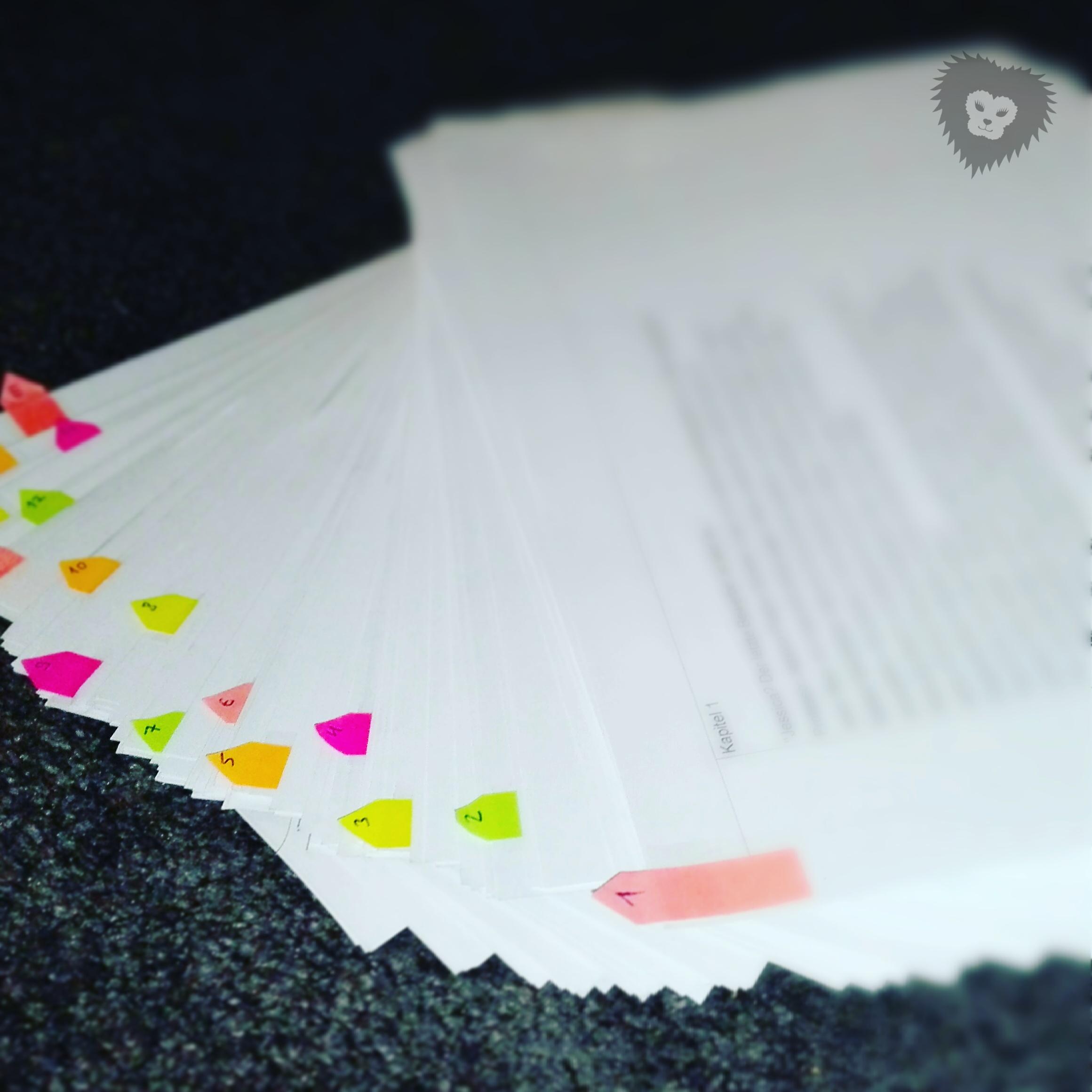 Manuskript-Liebesroman