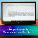 Regenbogenblau-Buch-Song